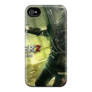 Iphone 4/4s TrXwk38231vClbN Witcher 2 Tpu Silicone Gel Case Cover. Fits Iphone 4/4s