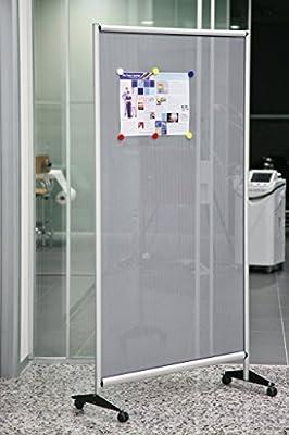 pared divisoria de chapa de oficina Studio negocio Showroom con ruedas whl203: Amazon.es: Oficina y papelería
