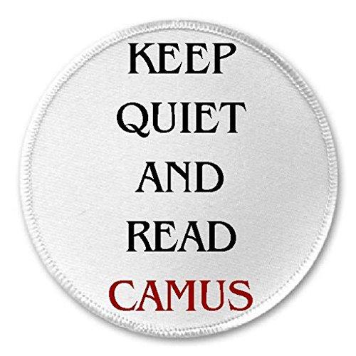 keep-quiet-and-read-camus-3-sew-iron-on-patch-albert-philosophy-philosopher