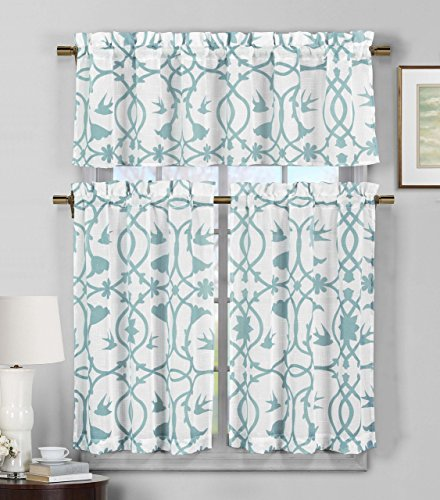 Piece Semi Sheer Window Curtain