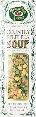 Split Pea Soup Buckeye Bean Country Split Pea Soup - 14 Oz (Pack of 6)