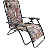 Zero Gravity Chair | Outdoor Extra Large Fully Reclines Gravity Chair, Multicolor, Green