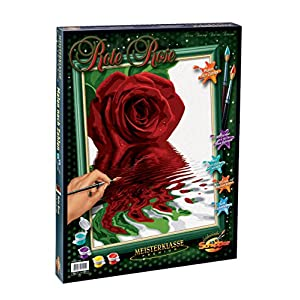 """Schipper """"Red Roses Paint by Numbers Painting Set (Multi-Colour) 14"""