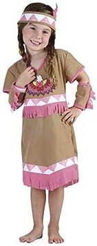 Disfraz niña India - talla 3 - 4 años: Amazon.es: Juguetes y juegos