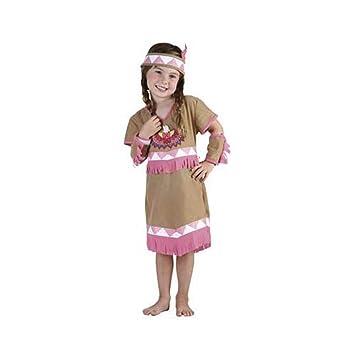 Disfraz niña India - talla 3 - 4 años: Amazon.es: Juguetes y ...