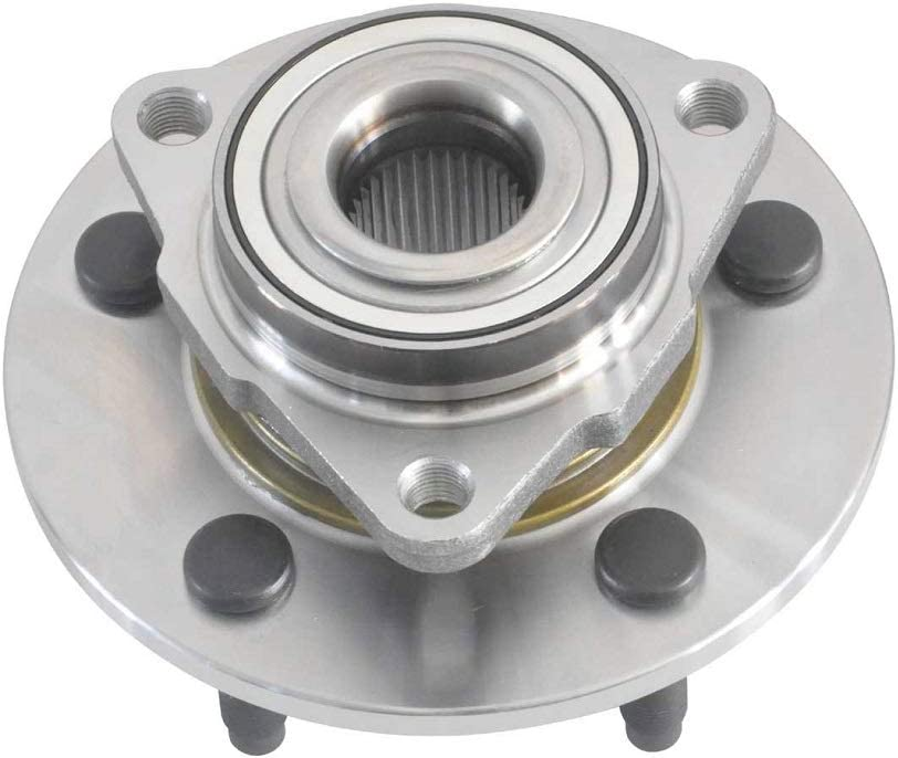 DRIVESTAR 515072 Front Wheel Hub /& Bearing Assembly BR930284 fits for Dodge Ram 1500 2002 03 04 05 06 07 2008 Trucks 5 Lugs Non-ABS