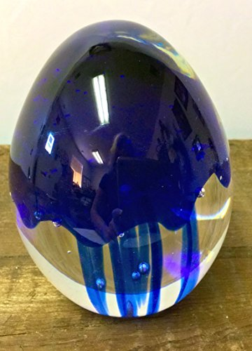 Oval Glass Paperweight - 3