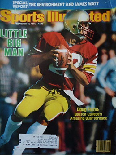 Sports Illustrated September 26 1983 Doug Flutie