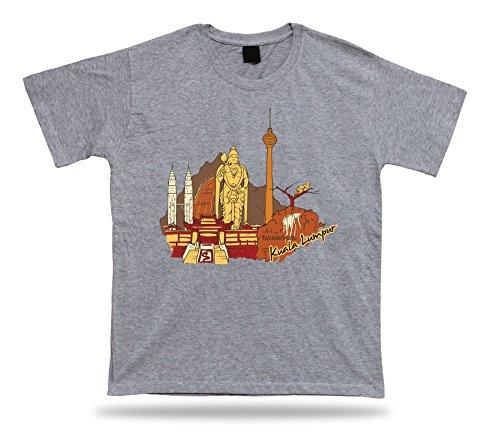 Body-soul-n-spirit Kuala Lumpur Petronas Towers Kuala Lumpur Tower Thean Hou Temple Tshirt (Lumpur Tower)
