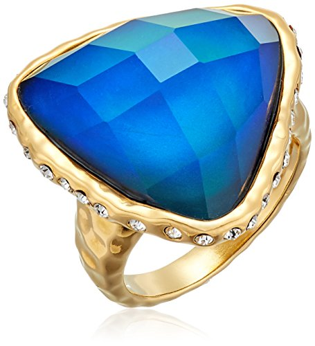 Color Changing 18k Yellow Gold Plated Bronze Thermochromi...