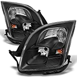 ford fusion headlight assembly - For Ford Fusion Black Headlights Head Lamps Driver Left + Passenger Right Side Replacement Pair Set