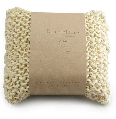 Baudelaire, Body Scubber Sisal, 1 Count