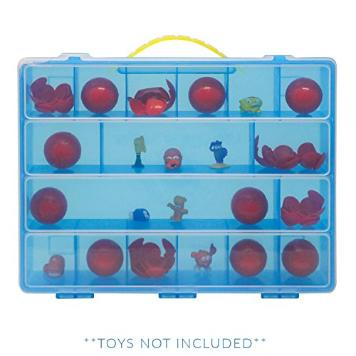Life Made Better Zuru Smashers Case, Toy Storage Carrying Box, Figures Playset Organizer. Accessories for Kids by LMB