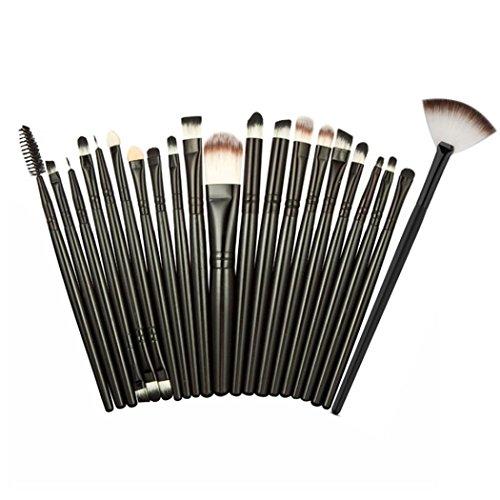 VANDER 32 Pcs Makeup Brushes Set Kits (Black) - 9