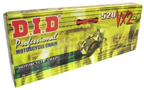 Did  Daido  525Vxg150zb  Pro Street 525Vx 150 Chain  Gold Black  Made By Did  Daido