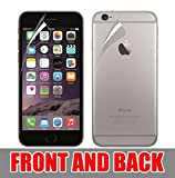 Plus TPU Guard Front & Back Crystal Clear,Hd Ultra Clear Film Edge To Edge Screen Protector For Iphone 6 Plus / Iphone 6S Plus