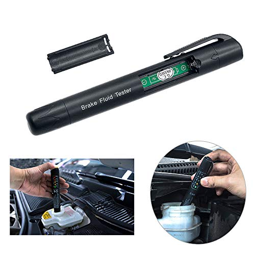 Euone Car Testing Tool , Brake Fluid Tester 5 LED Car Vehicle Auto Automotive Testing Tool for -