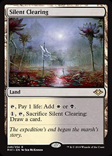 The Gathering MTG Modern Horizons Silent Clearing M//NM Magic