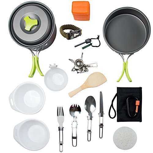 MalloMe Cookware Backpacking Equipment Lightweight product image