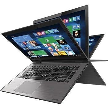 "Toshiba Radius 14"" Touch-screen Laptop - 5th Gen Intel Core / 6GB Memory / 500GB HD/ Webcam / Windows 10 Brushed Black/Brushed Metal"