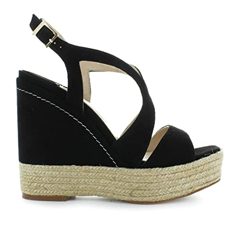 Mafafa Zapatos Plataforma Negro Paloma Barcelò De Mujer Sandalia CtxsQrdh