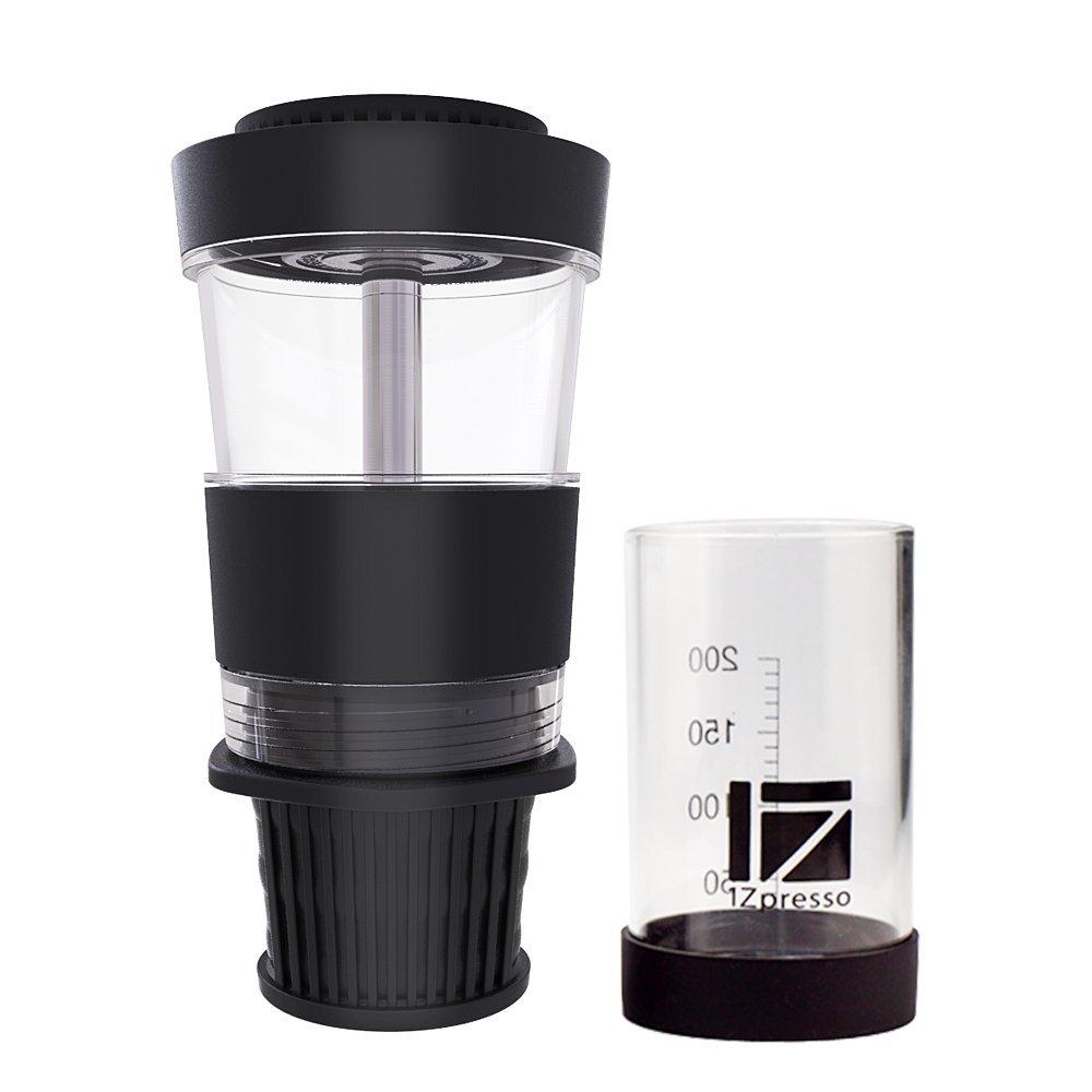 1Z Maker Portable Manual Espresso Coffee Machine Mini Hand Pressure K-Cup Coffee Maker
