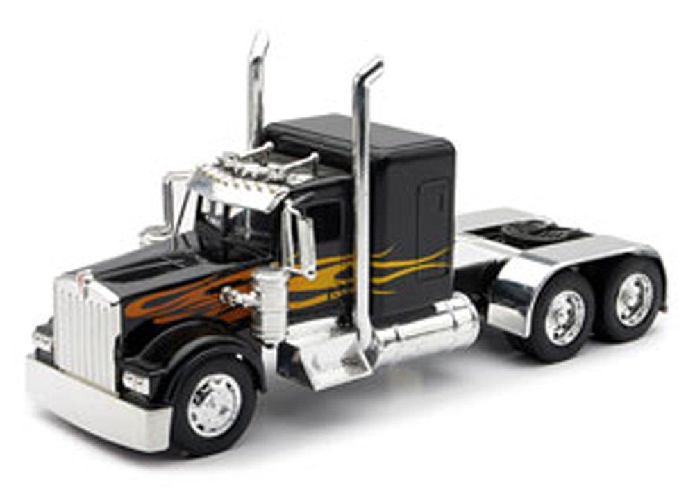Toy Semi Tractor : Kenworth toy flatbed trucks wow
