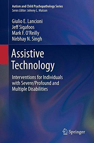 Assistive Technology: Interventions for Individuals with Severe/Profound and Multiple Disabilities (Autism and Child Psychopathology Series) - Ambulation Device