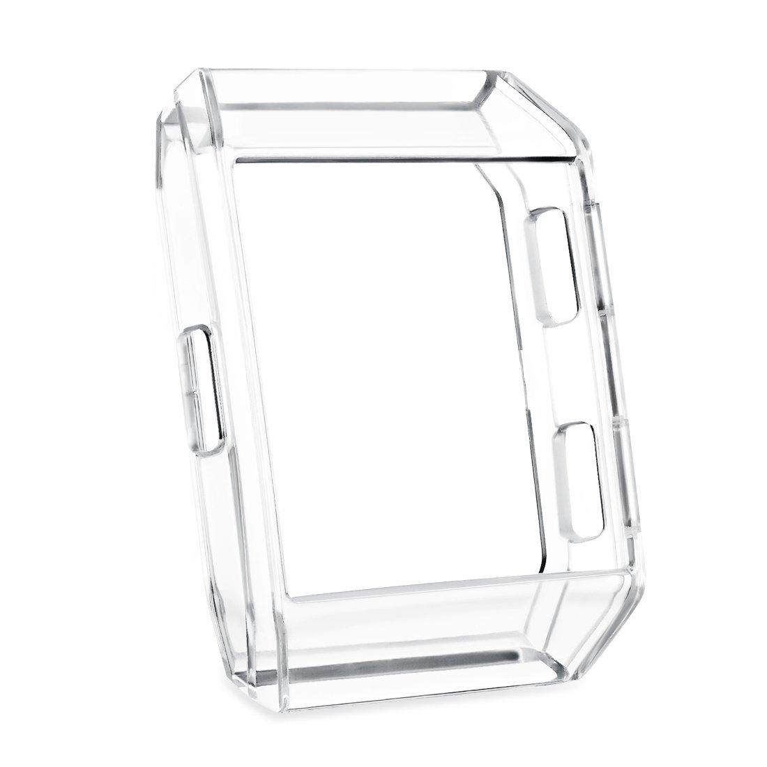 gincoband Fitbit Ionicケース、透明クリスタル柔らかいTpuケースプロテクターアクセサリーカバーシェルfor Fitbit Ionic Smart Watch B077MDQXCJ 1-Pack Trans Clear 1-Pack Transparent Clear