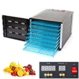 Food Fruit Dehydrator with Door Digital Timer (8 Trays)