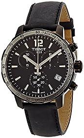 Tissot Men's T0954173605702 Analog Display Swiss Quartz Black Watch