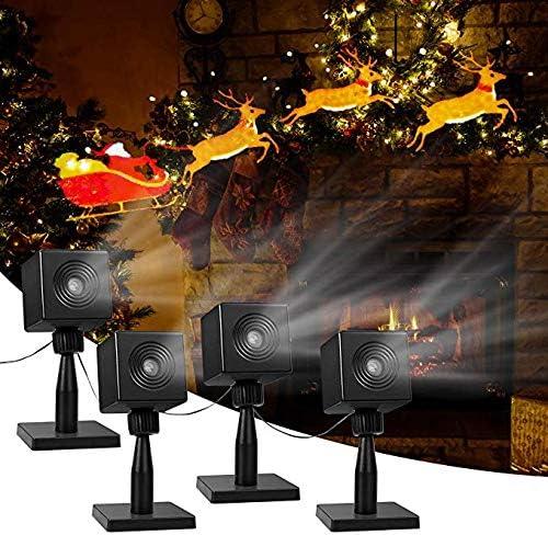 Amazon.com: YUNLIGHTS Proyector de luz navideña para ...
