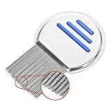 2pcs Metal Nit Head Hair Lice Comb Fine Toothed