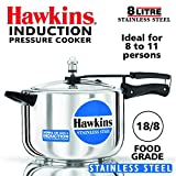 Hawkins B85 Pressure cooker 8 L Silver