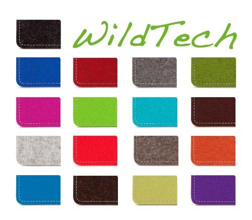 WildTech Sleeve für Apple iPhone 7 / 6S / 6 Hülle Tasche - 17 Farben (made in Germany) - Anthrazit