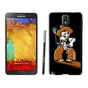 Hot Sale Samsung Galaxy Note 3 Case ,Beautiful Unique Designed Case With NCAA Big 12 Conference Big12 Football Oklahoma State Cowboys 16 Black Samsung Galaxy Note 3 Cover