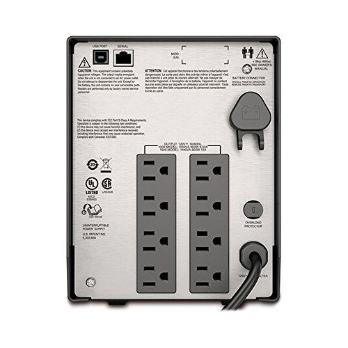 SMT1500 APC Smart-UPS 1500VA UPS Battery Backup with Pure Sine Wave Output