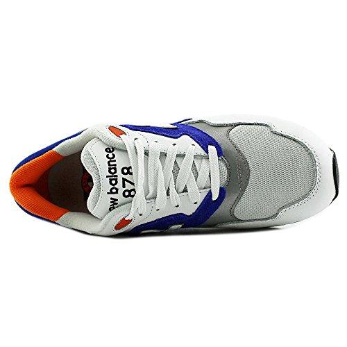 4e2447695 New Balance ML878 Men Round Toe Leather Sneakers 70%OFF - sylviemasse.ca