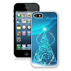 Personalize offerings Iphone 5S Protective Cover Case Christmas Tree iPhone 5 5S TPU Case 27 White