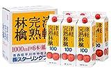 1000mlX6 this Tsugaru ripe apple juice cartons SF-E
