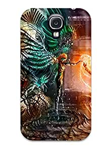 Cute Appearance Cover/tpu OZGGxVC127zAIkS Man And Fairy Meeting Case For Galaxy S4