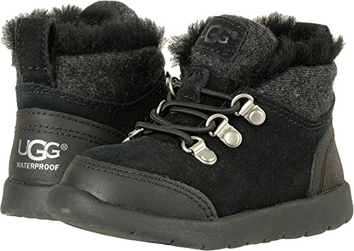 UGG Toddler obie WP Winter Boot Black Size 12 M US Little Kid (Ugg Kids 12 Size)