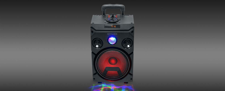Muse M-1915 DJ 150 W Trolley Public Address (PA) System Negro ...