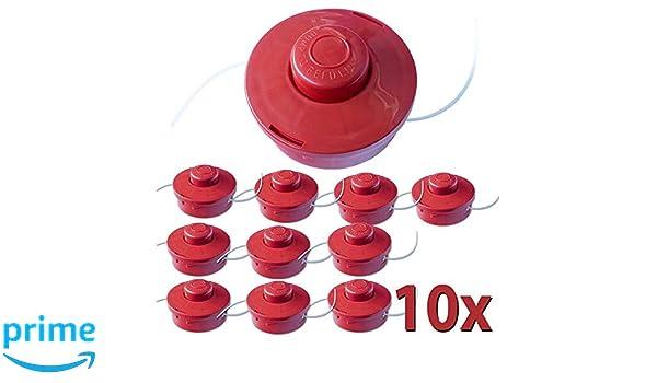 Nemaxx 10x FS2 Cabezal de Doble Hilo semiautomático - Cabezal de ...