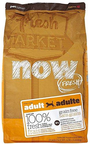 Now! 152343 Fresh Grain Free Adult Dog Food, 12-Pound Bag For Sale