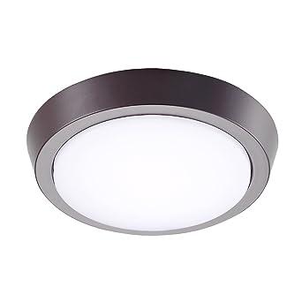 GetInLight 7 Inch Flush Mount LED Ceiling Light With ETL Listed, Soft White  3000K,