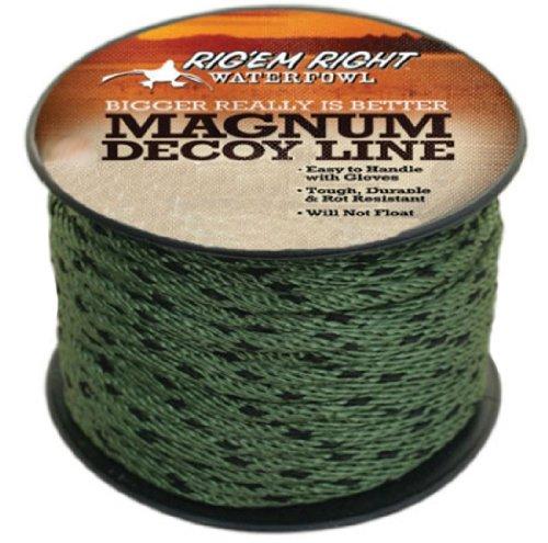 - A.C. Kerman - LE Rig'Em Right Magnum Decoy Line, 100-Feet Spool