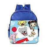 Kids Ni Hao,Kai-lan School Backpack Style Baby Boys Girls School Bag RoyalBlue