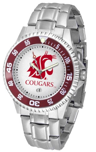 - Washington State Cougars Competitor Steel Men's Watch