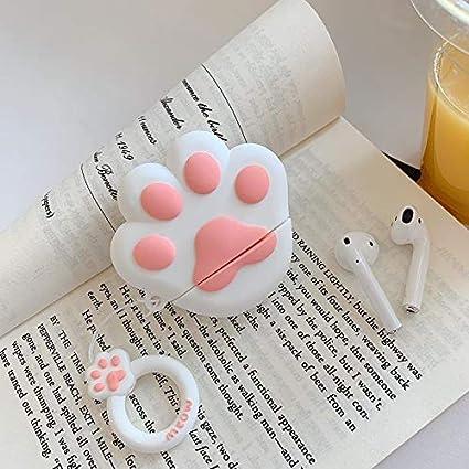 Amazon Com Cat Claw Airpods Case Cute Airpods Case Cat Paw